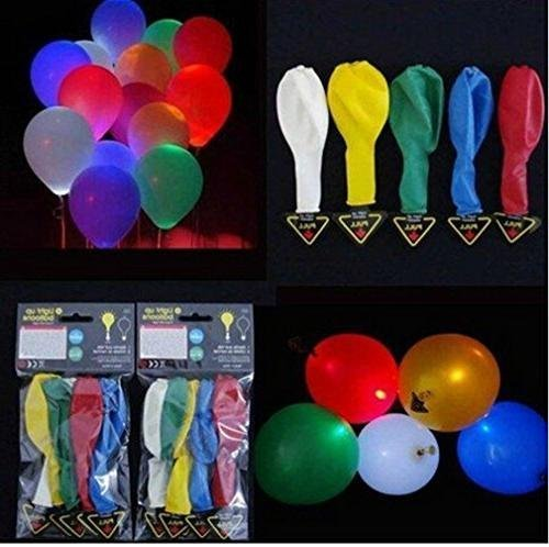 Zap Impex ® LED-Licht-up Ballons 15 Mischfarbe Party Pack